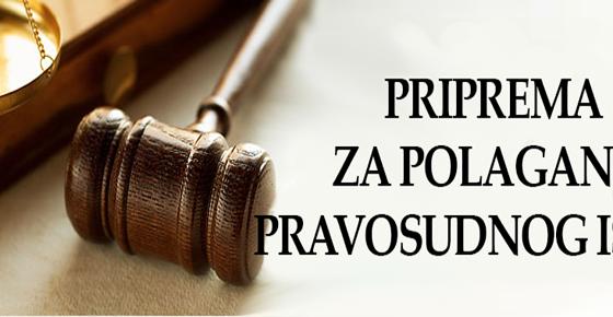 Pripremna nastava za polaganje pravosudnog ispita