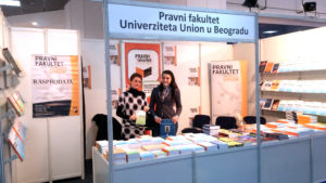 Pravni fakultet Univerziteta Union na Sajmu knjiga