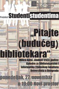 Besplatna radionica za studente u SKC-u Beograd