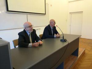 """Gostujuće predavanje Rodoljuba Šabića u okviru programa """"Naučni seminar"""""""