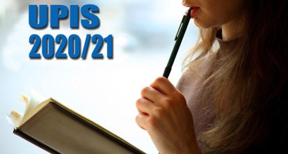 Upis 2020/21